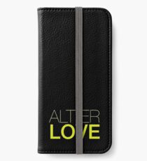Alt er Liebe - Skam iPhone Flip-Case/Hülle/Klebefolie