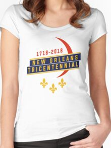 New Orleans Tricentennial Women's Fitted Scoop T-Shirt
