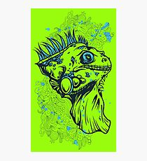 REPTILIA - REPTILE / LIZARD illustration Photographic Print