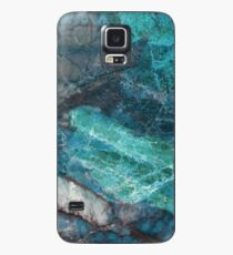 Real Marble - Cerulean Blue Marble Texture Case/Skin for Samsung Galaxy