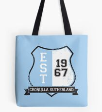 Cronulla Sutherland Rugby League: Established Shield Tote Bag
