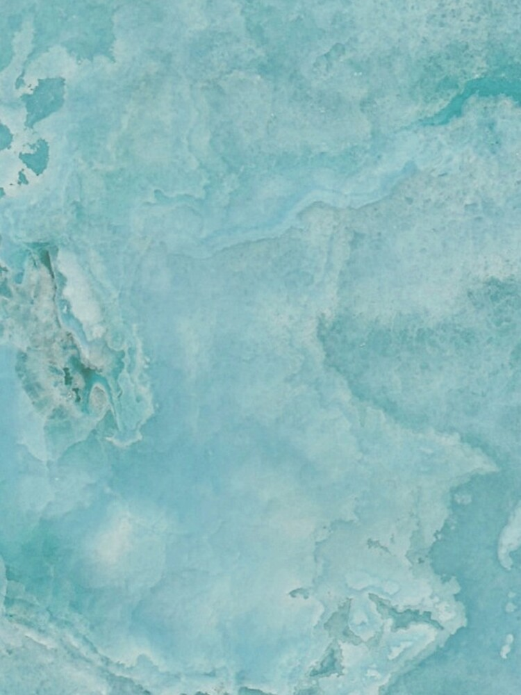 Turquoise Sea Marble by naturemagick