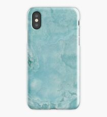 Turquoise Sea Marble iPhone Case/Skin