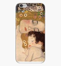 Gustav Klimt, The Three Ages of Woman, 1905 iPhone Case
