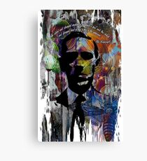 Fear HP lovecraft Canvas Print