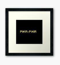 Pika-pika Framed Print