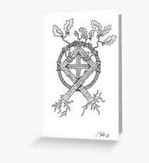 Othala Norse Rune Greeting Card