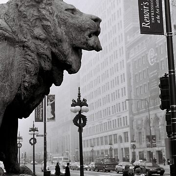 Art Institute Lion - Chicago, IL by cooksee