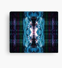 MULTI-COLOURED PALM PARADISE Canvas Print