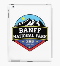 BANFF NATIONAL PARK ALBERTA CANADA Skiing Ski Mountain Mountains Snowboard Boating Hiking iPad Case/Skin