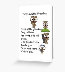 Groundhog Day In Canada Greeting Card
