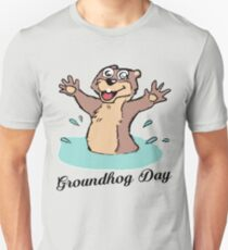 Happy Groundhog Day Canada Unisex T-Shirt