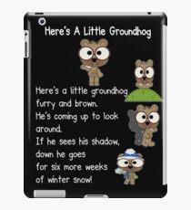 Happy Groundhog Day In Canada iPad Case/Skin