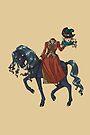 Dullahan Headless Horsewoman Rider MONSTER GIRLS Series I by angelasasser