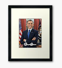 OBAMA, Barack Obama, 44th, President of the United States Framed Print