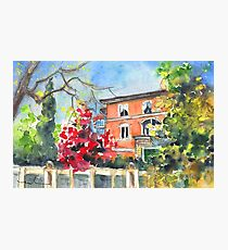 Bergamo Autumn 01 Photographic Print