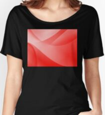 Red Wallpaper Women's Relaxed Fit T-Shirt