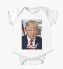 Donald Trump, 45th, President of the United States One Piece - Short Sleeve