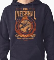 Infernal Nail Amber Ale | FFXIV Pullover Hoodie