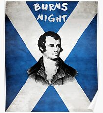 BURNS NIGHT january 25th Poster