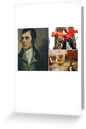Burns night scotland greeting cards by musicbandcanada redbubble burns night scotland by musicbandcanada m4hsunfo