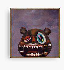 Kanye West - My Beautiful Dark Twisted Fantasy Bear Canvas Print