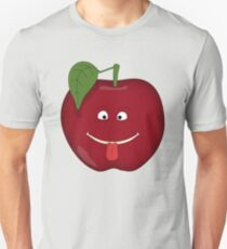 Silly Emotive Apples Unisex T-Shirt