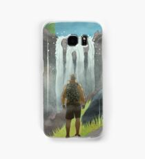 HK Bokuto's waterfall Samsung Galaxy Case/Skin