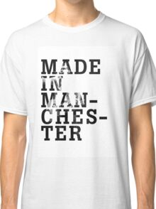 """Courteeners """"Made in Manchester"""" Classic T-Shirt"""