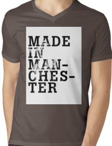 """Courteeners """"Made in Manchester"""" Mens V-Neck T-Shirt"""