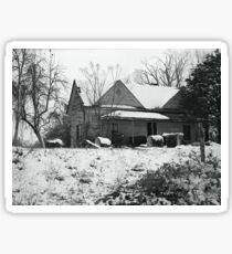 Abandoned Farmhouse in South Carolina Sticker