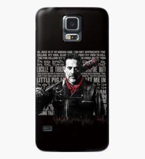 Funda/vinilo para Samsung Galaxy The Walking Dead - Negan quotes