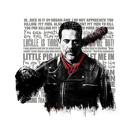 The Walking Dead - Negan zitiert von GreysGirl
