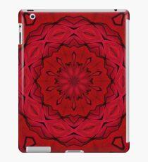 Psychedelic Black & Red Mandala iPad Case/Skin