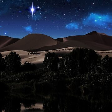 C.E. Starry Desert Night 1 by galet09