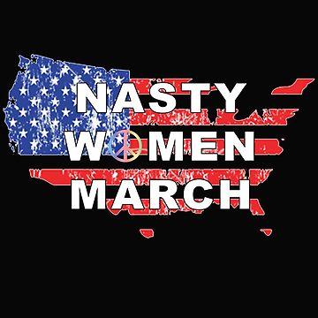 Nasty Women March by musicbandcanada