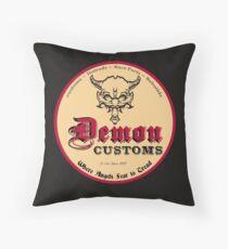 Hot Rod Custom T-shirt Throw Pillow