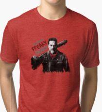 Negan - freaky deaky Tri-blend T-Shirt