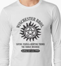 SUPERNATURAL - WINCHESTER BROTHERS Long Sleeve T-Shirt