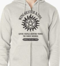 SUPERNATURAL - WINCHESTER BROTHERS Zipped Hoodie