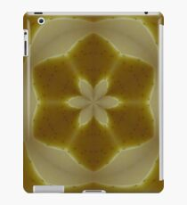 Psychedelic Yellow Mandala iPad Case/Skin