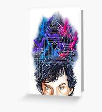 Sherlock Holmes: Mind Palace Greeting Card
