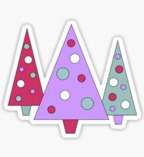 Funky Trees Sticker