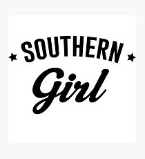 Southern Girl Photographic Print