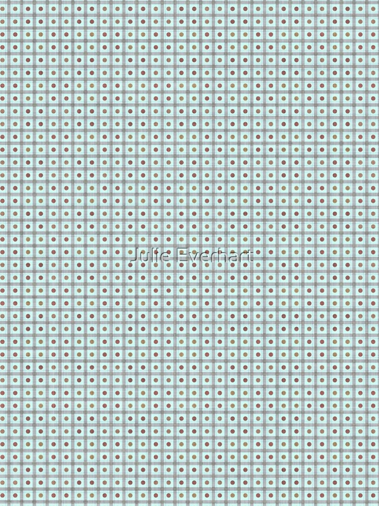 Squares & Dots in Light Blue by Julie Everhart by julev69