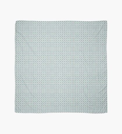 Squares & Dots in Light Blue by Julie Everhart Scarf