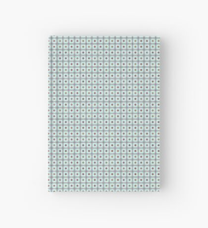 Squares & Dots in Light Blue by Julie Everhart Hardcover Journal
