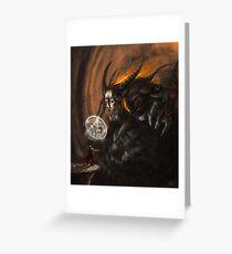 Demon Slayer Greeting Card