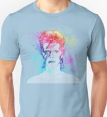 Bowie painting Unisex T-Shirt