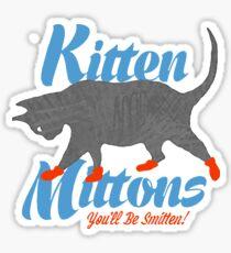 Kitten Mittons Sticker